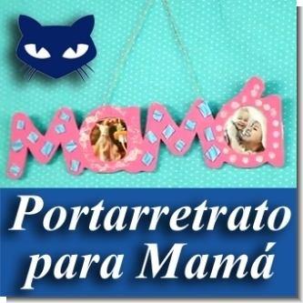 Lee el articulo completo MANUALIDADES:  Portarretrato para Dia de La Madre