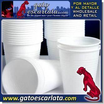 GEPOV424:  VASOS PLASTICOS DESECHABLES NUMERO 12