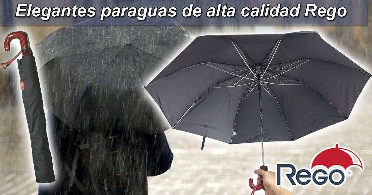 Lee el articulo completo Elegantes paraguas de alta calidad Rego
